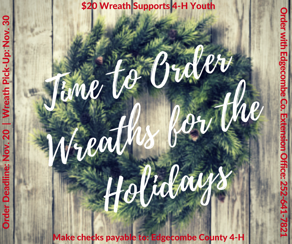 Order holiday wreaths