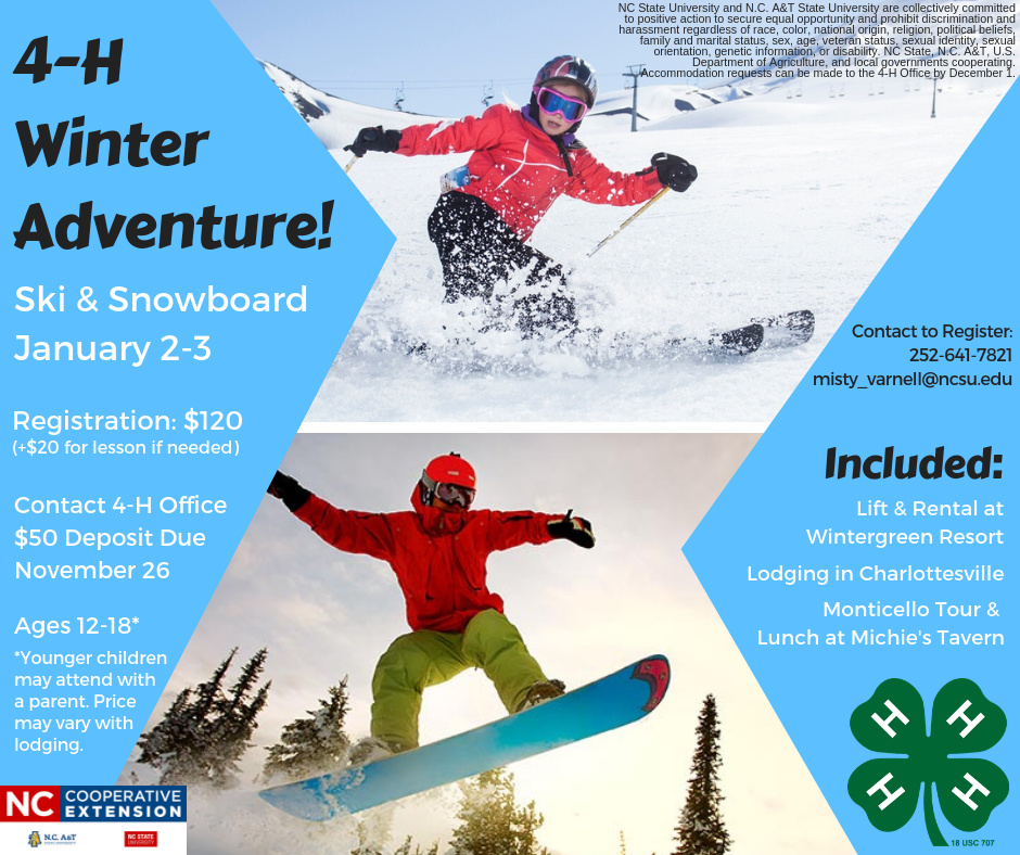 Winter Adventure flyer image