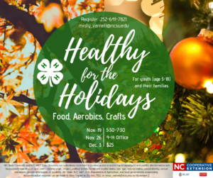 Cover photo for Healthy for the Holidays