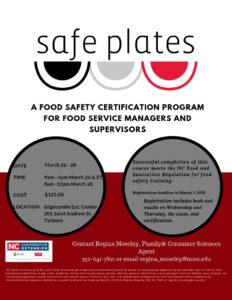 NC Safe Plates flyer image