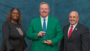 Cover photo for Art Bradley Receives Outstanding County Extension Director Award