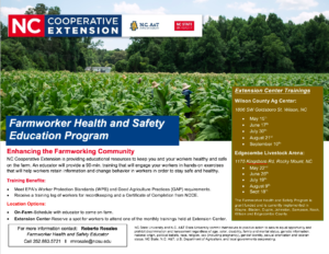 Cover photo for Farmworker Health and Safety Education Program