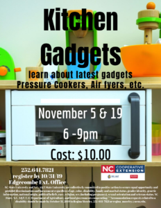 Cover photo for Kitchen Gadgets
