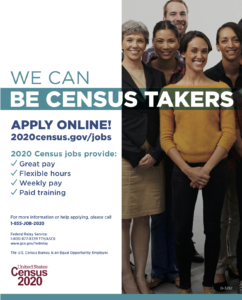 Cover photo for Apply to Be a Census Taker