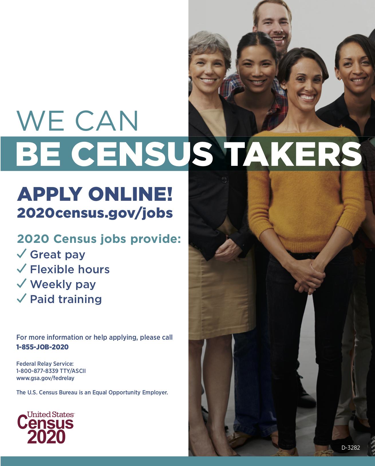 census job ad