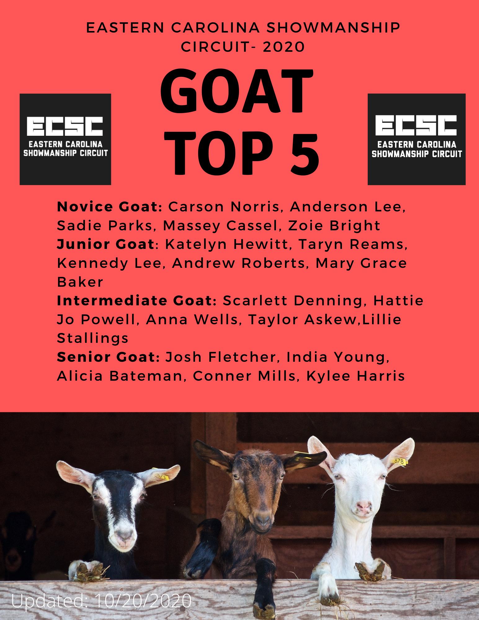 Goat Top 5