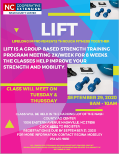 Cover photo for LIFT (Lifelong Improvements Through Fitness Together)