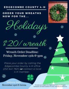 Wreath Fundraiser