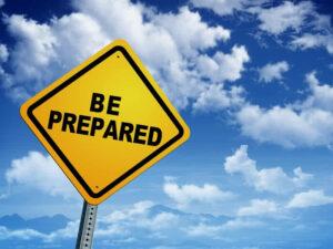 Cover photo for Be Prepared! Disaster Preparedness Webinar