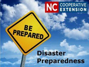 Cover photo for Be Prepared! Disaster Preparedness