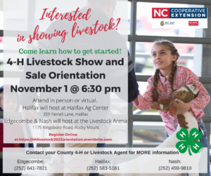 Interested in showing livestock?